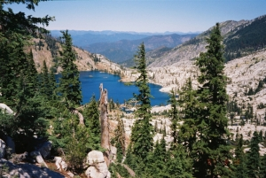 Caribou Lake, Trinity Alps Wilderness