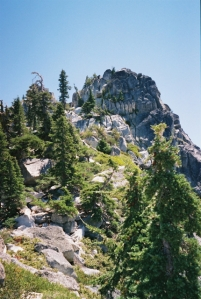 Caribou Scramble, Trinity Alps Wilderness