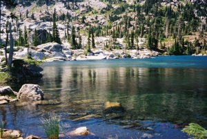 Snowslide Lake, Caribou Wilderness